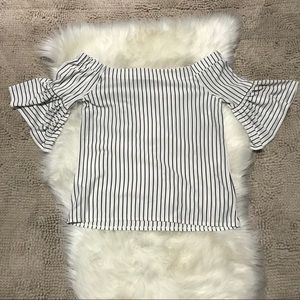 Banana Republic Tops - Banana Republic Off the Shoulder Top